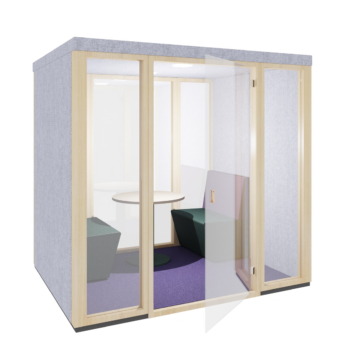 Ply Booth Midi Open Door