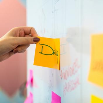 whiteboard dans le bureau